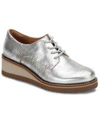 cf61054047c Söfft - Salerno Leather Wedge Oxford - Lyst