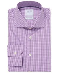 Smyth & Gibson - Gingham Poplin Dress Shirt - Lyst