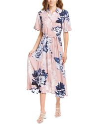 French Connection Corsetta Shirtdress - Pink