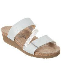 Naot - Sheryl Leather Sandal - Lyst