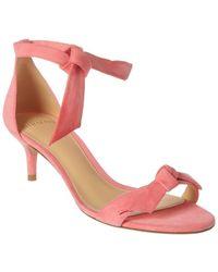 Alexandre Birman Clarita 50 Suede Sandal - Pink