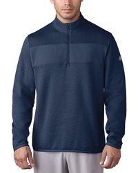 adidas Originals Club Performance 1/4-zip Pullover - Blue