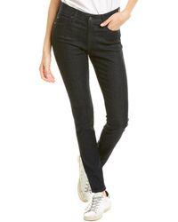 AG Jeans The Farrah Indigo Winter High-rise Skinny Leg - Blue