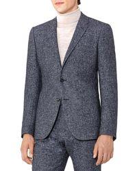Reiss - Turner B Slim Fit Wool-blend Jacket - Lyst
