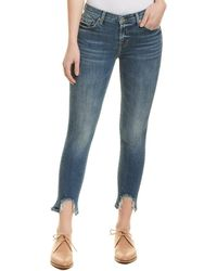 Luxe Denim Slims Pearl Studded Ankle Jeans