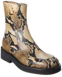 Marni - Leather Boot - Lyst
