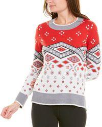 Krimson Klover Solstice Wool-blend Jumper - Red