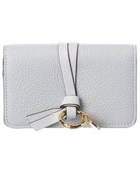 Chloé Long Leather Continental Cardholder - Multicolor