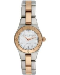 Baume & Mercier Baume & Mercier Women's Linea Luxury Style Diamond Watch, Circa 2000s - Metallic