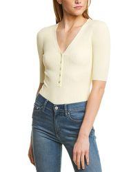 A.L.C. Toni Bodysuit - Yellow