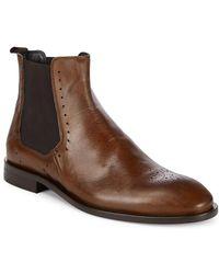 Bacco Bucci - Fabri Leather Chelsea Boot - Lyst