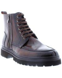 Zanzara Wallingford Leather Boot - Brown