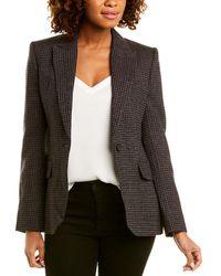 Equipment Burelle Wool-blend Blazer - Black