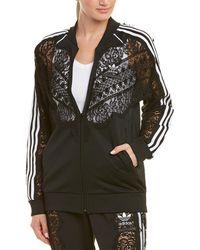 Stella McCartney Adidas 3-stripe Lace Jacket - Black