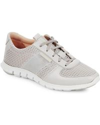 Cole Haan - Perforated Lace-up Sneaker - Lyst
