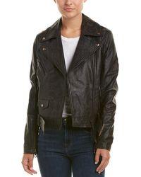Robert Graham - Leather Jacket - Lyst