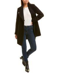 Kenneth Cole Wool-blend Coat - Black
