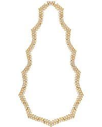Assael 18k 22.59 Ct. Tw. Diamond Necklace - Metallic