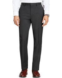 Brooks Brothers Wool Twill Suit Trouser - Grey