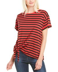 NYDJ Tie-front T-shirt - Red