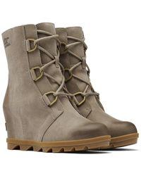 Sorel Joan Of Arctic Wedge Ii Leather Boot - Multicolour