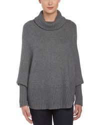 Portolano - Wool & Angora-blend Poncho - Lyst