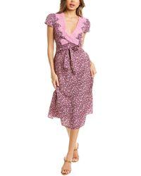 LoveShackFancy Into The Night Minuet Dress - Purple
