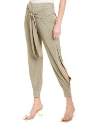 Halston Flowy Tapered Pant - Multicolour