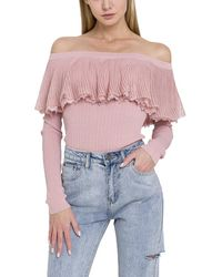 English Factory - Off-the-shoulder Top - Lyst