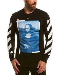 Off-White c/o Virgil Abloh ? Graphic T-shirt - Black