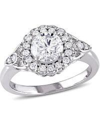 Rina Limor 14k 1.23 Ct. Tw. Diamond Engagement Ring - Metallic