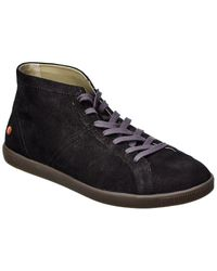 Softinos Softinos By Fly London Tem Suede Trainer - Black