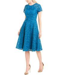 Kay Unger A-line Dress - Blue