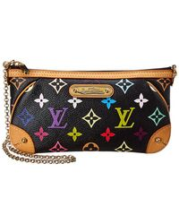 Louis Vuitton Black Monogram Multicolore Canvas Milla