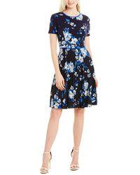 Maggy London A-line Dress - Blue