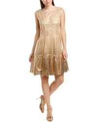 Anna Sui Jewel Of The Sea Cocktail Dress - Pink