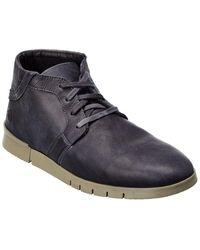 Softinos Softinos By Fly London Cul Leather Trainer - Grey