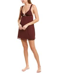 Eberjey Anouk Classic Chemise - Red