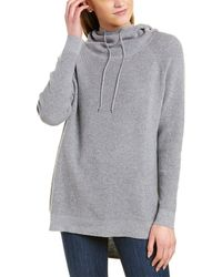 Forte Thermal Cashmere-blend Hoodie - Grey