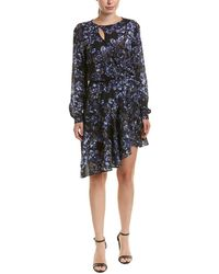 Parker - Floral Faux Wrap Dress - Lyst