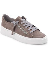 Dolce Vita Viro Leather Trainer - Grey