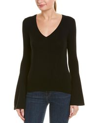 MILLY - Bell Sleeve Sweater - Lyst