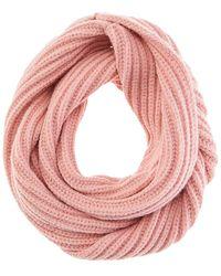 Hat Attack Cabin Loop Scarf - Pink