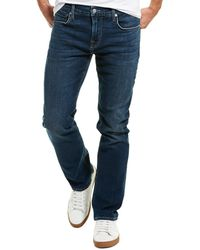 7 For All Mankind 7 For All Mankind Dark Wash Straight Leg - Blue
