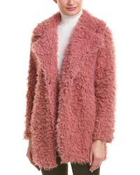 Romeo and Juliet Couture Teddy Coat - Pink