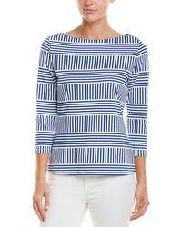 J.McLaughlin Catalina Cloth Top - Blue