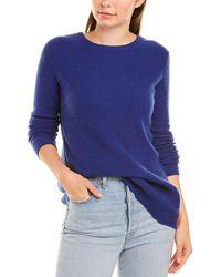 Autumn Cashmere Cashmere Jumper - Blue