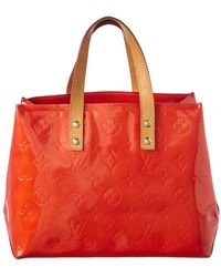 Louis Vuitton - Red Monogram Vernis Leather Reade Pm - Lyst