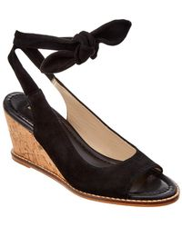Bettye Muller - Playlist Suede Wedge - Lyst
