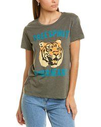 Chaser Spirit Tiger T-shirt - Green